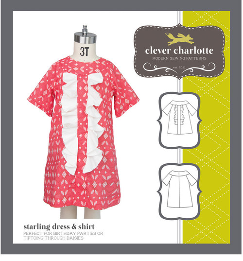 Starling Dress & Shirt (2 - 8 years) - Clever Charlotte