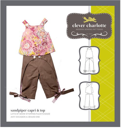 Sandpiper Capri & Top (2 - 8 years) - Clever Charlotte