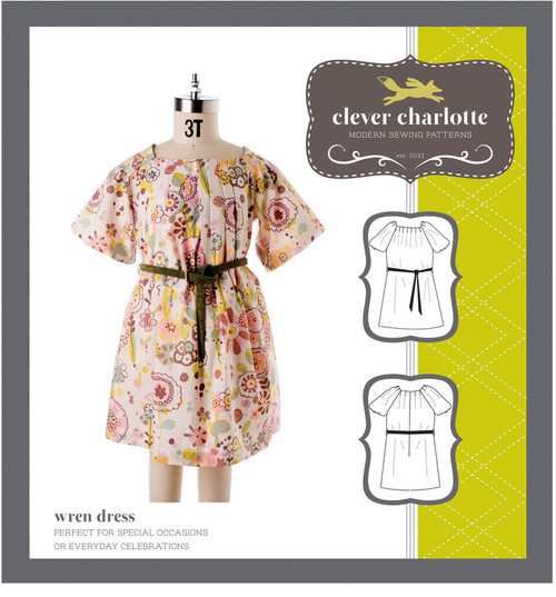 Wren Dress (2 - 8 years) - Clever Charlotte