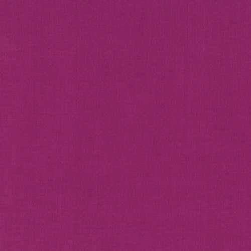 kona cotton cerise. purple stitches uk