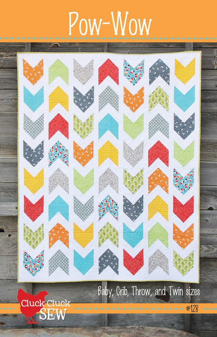 Cluck Cluck Sew Pow-wow paper pattern, available from Purple Stitches, UK