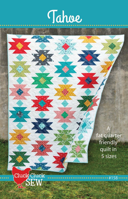 Tahoe Cluck Cluck Sew paper pattern, available from Purple Stitches, UK