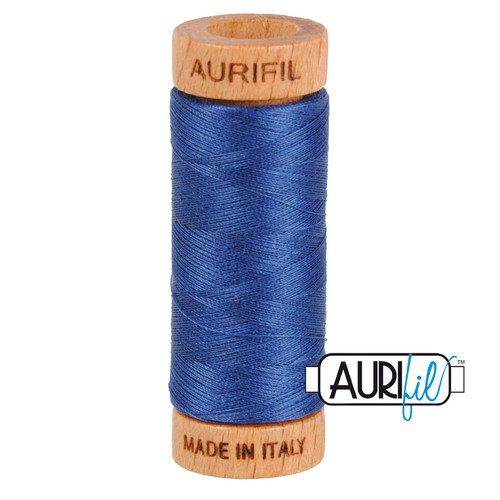 Aurifil Thread 2775 STEEL BLUE 80wt