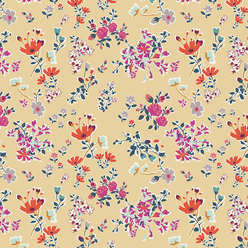 Boho Fusion fabric by AGF, available at Purple Stitches, North Hampshire, UK