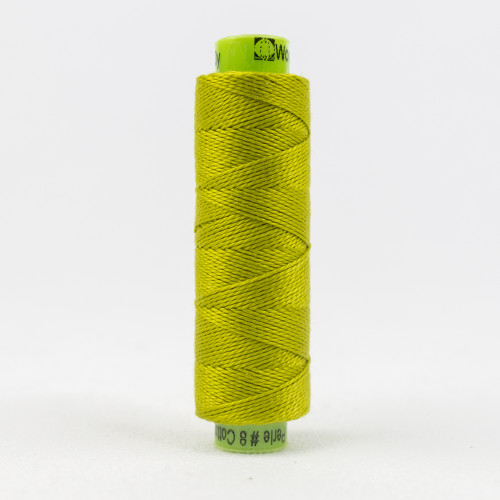 Call-A-Treuse, Sue Spargo Eleganza perle 8 cotton, Available from Purple Stitches, Hampshire UK