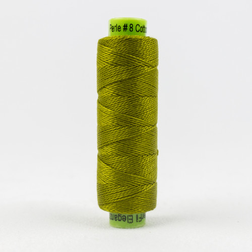 Bristle Grass, Sue Spargo Eleganza perle 8 cotton, Available from Purple Stitches, Hampshire UK