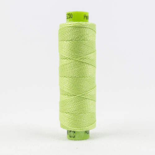 After Dinner Mint, Sue Spargo Eleganza perle 8 cotton, Available from Purple Stitches, Hampshire UK