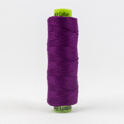 Passion Flower, Sue Spargo Eleganza perle 8 cotton, Available from Purple Stitches, Hampshire UK