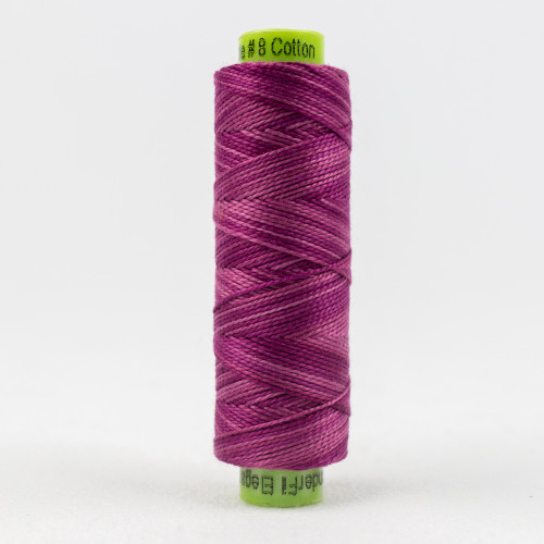Go-Getter, Sue Spargo Eleganza perle 8 cotton, Available from Purple Stitches, Hampshire UK