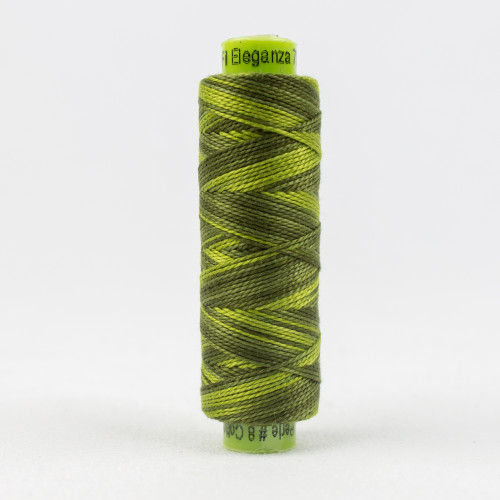 Up A Tree, Sue Spargo Eleganza perle 8 cotton, Available from Purple Stitches, Hampshire UK