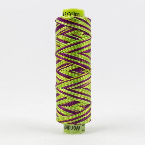 Chameleon, Sue Spargo Eleganza perle 8 cotton, Available from Purple Stitches, Hampshire UK