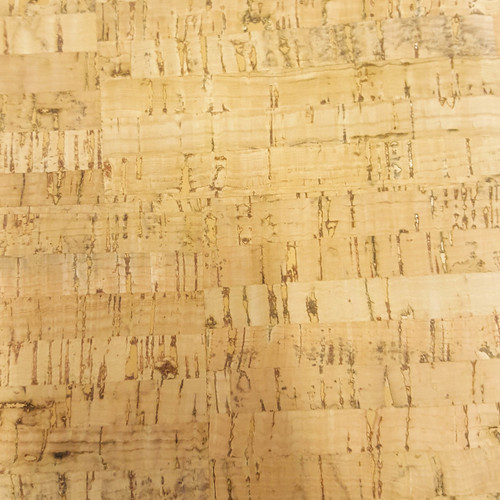 Natural Patterned Cork Fabric, suitable for accessories sewing, from Purple Stitches UK