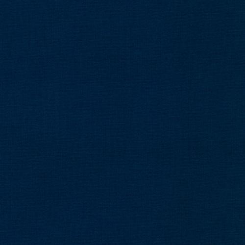 Kona Cotton, Navy, Available from Purple Stitches, Hampshire, UK