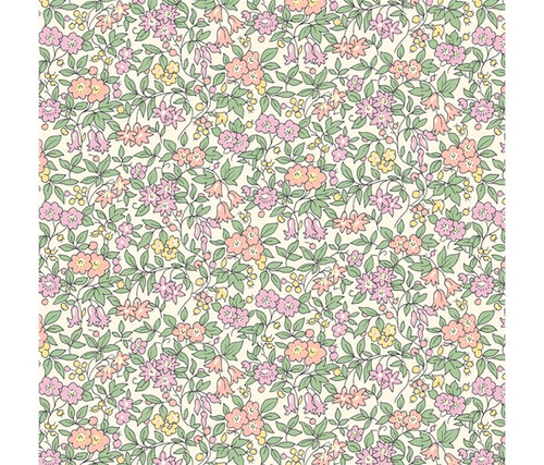 Exclusive Liberty Quilting Cotton Collection, The Cottage Garden, 100% cotton, available from Purple Stitches, Hampshire, UK