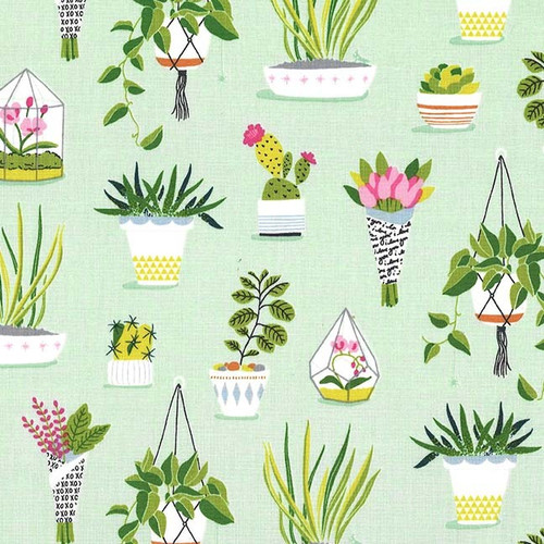 Flower Shop Bloom / Spout by Patty Sloniger, Michael Miller Fabric, available from Purple Stitches, Hampshire UK