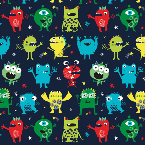 Playtime - Alien, Dashwood Studio, available from Purple Stitches , Hampshire, UK
