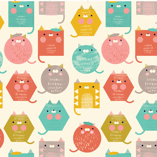 Cool Cat by Dashwood Studio, Available from Purple Stitches, Hampshire, UK