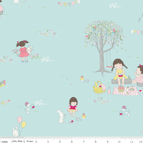 Serendipity by Minki Kim, Riley Blake Designs, available from Purple Stitches, Hampshire, UK