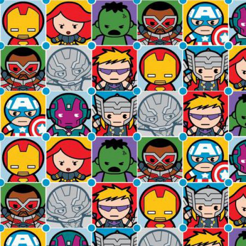 Marvel Fabrics, by Spring Creative, available from Purple Stitches, Hampshire, UK