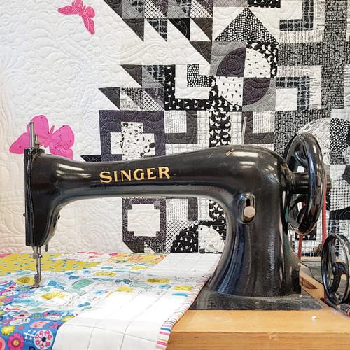Sewing machine basics class, from Purple Stitches, Hampshire, UK