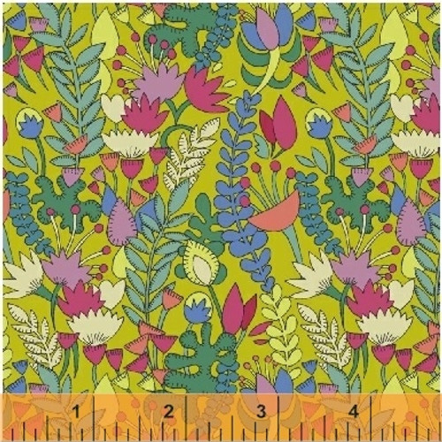 Fantasy by Sally Kelly, Windham Fabric, available from Purple Stitches, Hampshire, UK