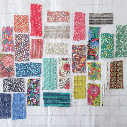 Fantasy Fat quarter by bundle by Sally Kelly, available from Purple Stitches, Hampshire, UK