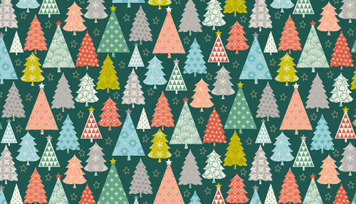 Christmas Fabric by Makower, Available from Purple Stitches, Hampshire UK.