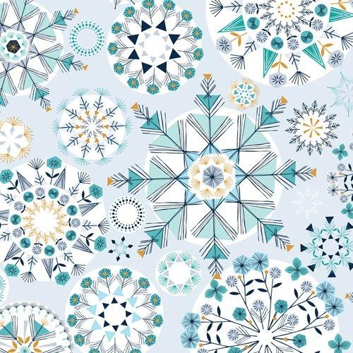 Christmas Fabric by Dashwood Studio, Available from Purple Stitches, Hampshire UK.