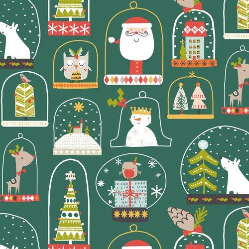 Metallic Christmas Fabric by Dashwood Studio, Available from Purple Stitches, Hampshire UK.