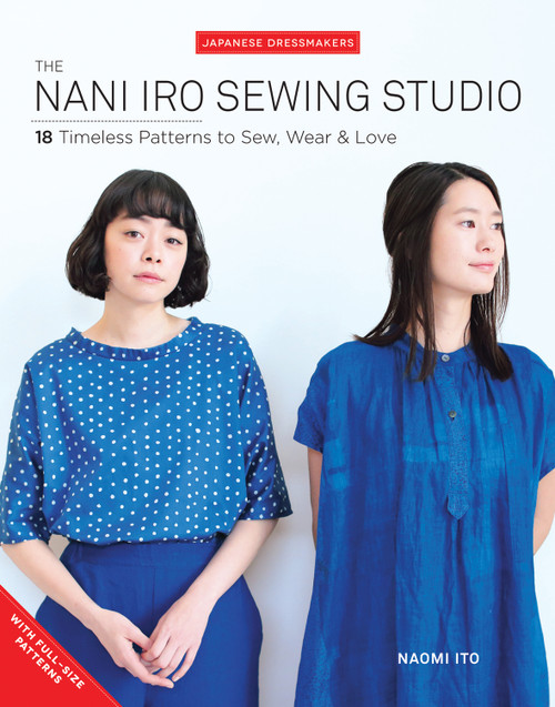 Nani Iro Sewing Studio Book, available from Purple Stitches, hampshire UK