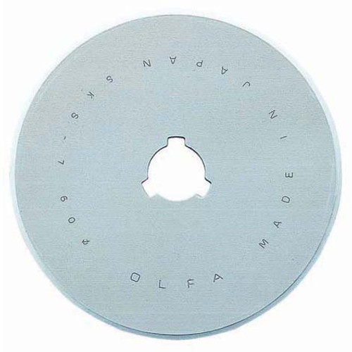 60mm replacement blade - Rotary Cutter Replacement Blade, available from Purple Stitches, Hampshire UK