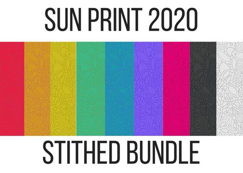 Sun print 2020, alison glass bundle, available from purple stitches, hampshire UK