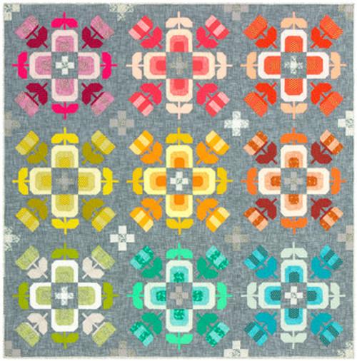 Casserole Quilt Kit - Elizabeth Hartman, available from Purple Stitches, Hampshire UK