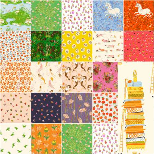 Full fat quarter bundle 20th Anniversary Collection, Heather Ross, pre-sale, available from Purple Stitches, North Hampshire, UK