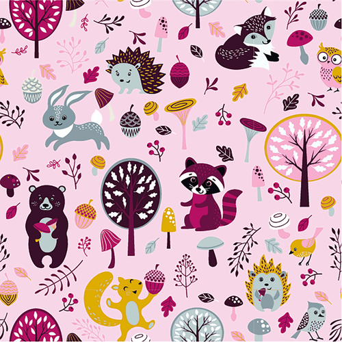 Cotton jersey knit, dressmaking fabric, Available from Purple Stitches, Hampshire UK