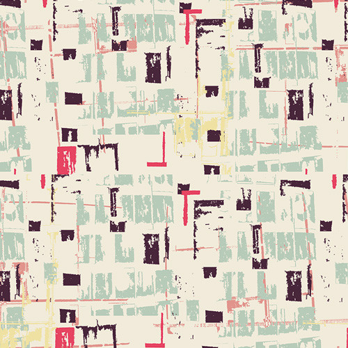 Tuner Tumble Viola - Heart Melodies - AGF Studio - Art Gallery Fabrics - bolt end 100cm x 110cm