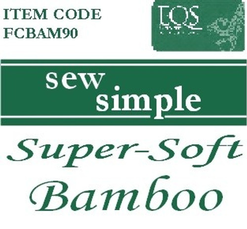 Sew Simple 100% Bamboo Super Soft wadding
