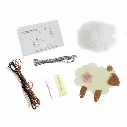 Felt Decoration Kit - Available from Purple Stitches, Hampshire UK