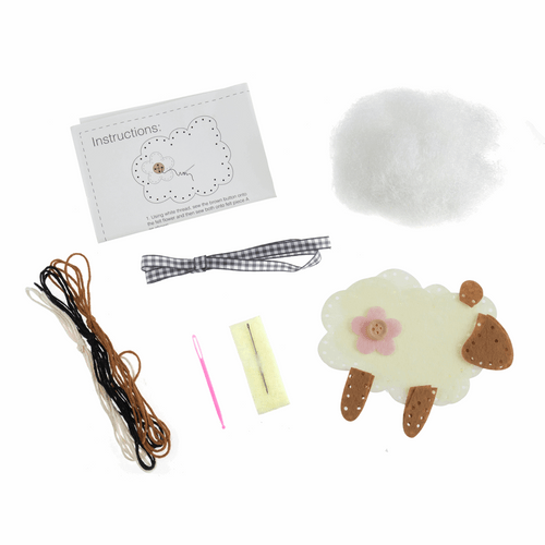 Felt Decoration Kit - Available from Purple Stitches, Hampshire UK