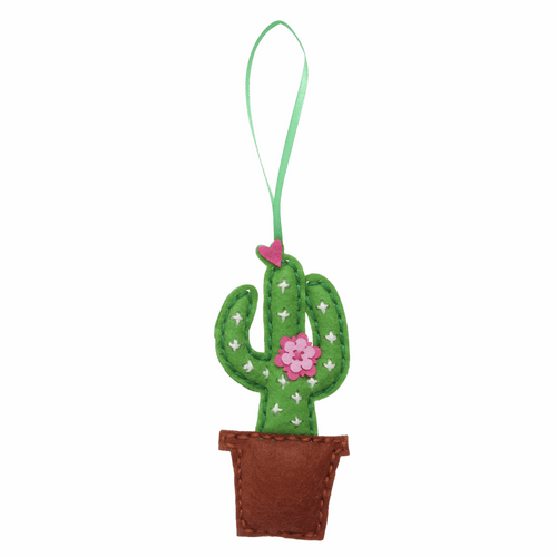 Cactus - Felt Decoration Kit