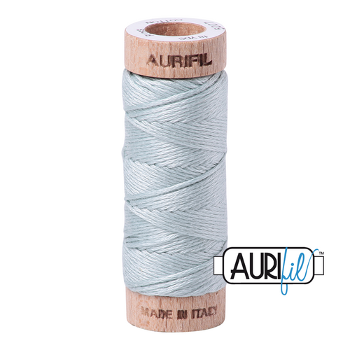 Aurifil Aurifloss 6 strand embroidery cotton 18 yards, 100% cotton, premium embroidery thread, available from Purple Stitches, North Hampshire, UK