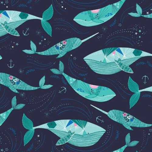Into the blues, Bethan Janine, Nautical fabrics, Dashwood Studio fabrics, available from Purple Stitches, Hampshire, UK