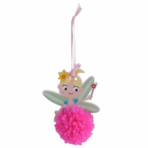 Fairy Decoration Kit - Available from Purple Stitches, Hampshire UK