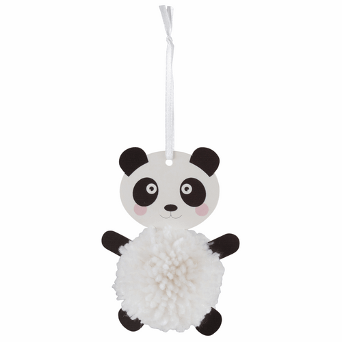 Panda Decoration Kit - Available from Purple Stitches, Hampshire UK