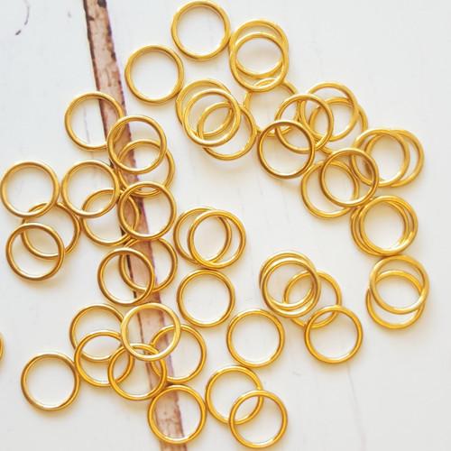 12mm GOLD colour Bra Rings