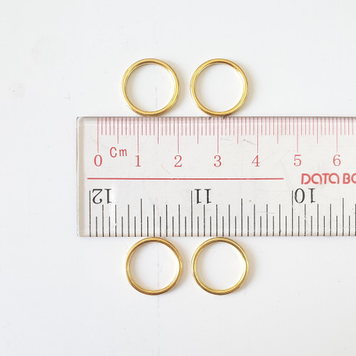 Bra rings, slider and g hook, bra supply, available from Purple Stitches, Hampshire UK