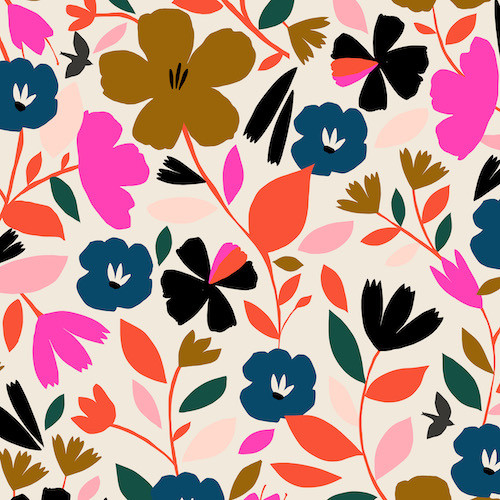Soiree Fabrics, Dashwood Studio, Cotton Poplin, available from Purple Stitches, Hampshire UK