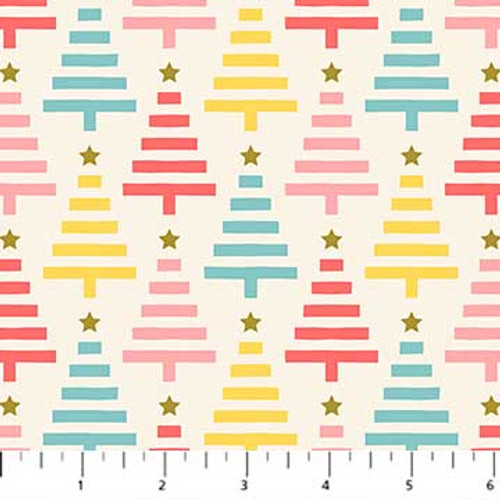 Polar Magic, Christmas Fabric, Figo Fabrics, available from Purple Stitches, Hampshire UK