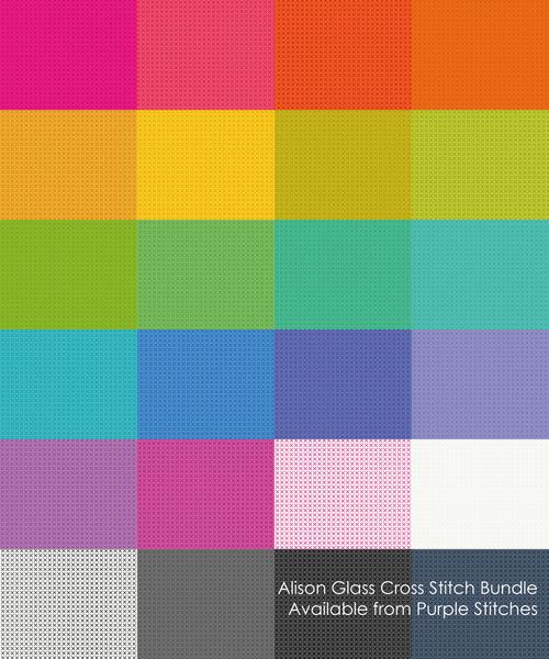Cross Stitch, Alison Glass, pre-sale, available from Purple Stitches, North Hampshire, UK