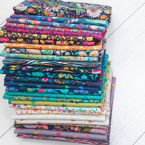 Solistice Full Collection Fat Quarter Bundle  - Sally Kelly - Windham